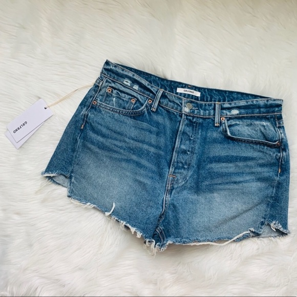 GRLFRND Pants - GRLFRND mardee denim shorts